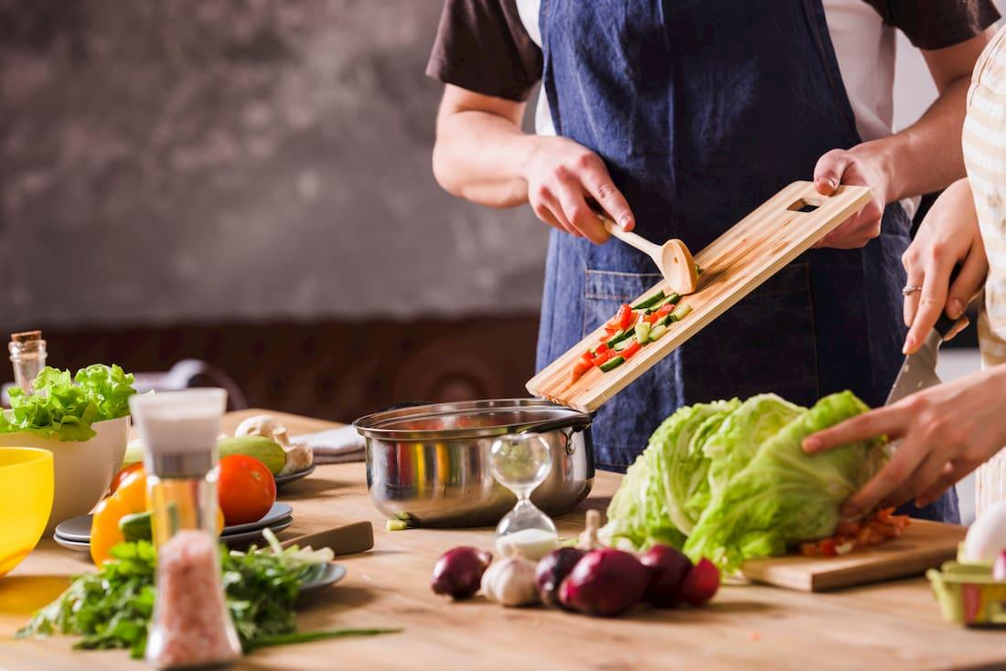 cocina de aprovechamiento