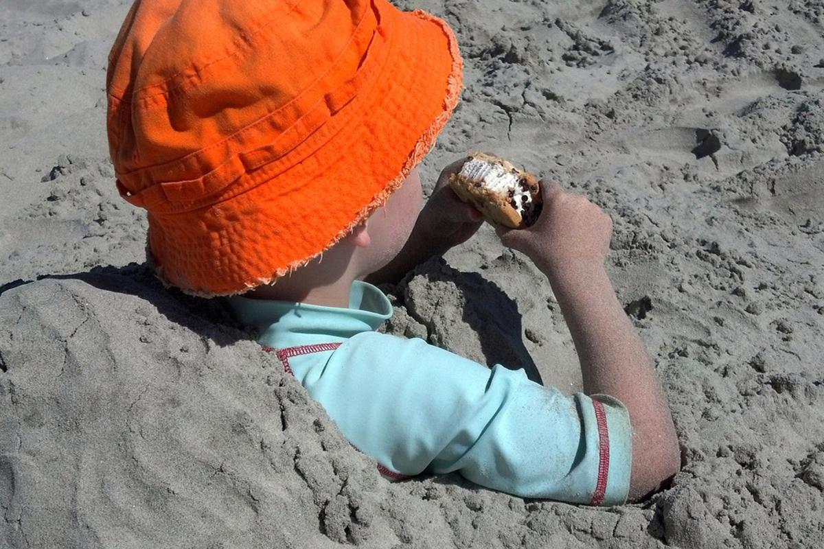 Comida para llevar a la playa