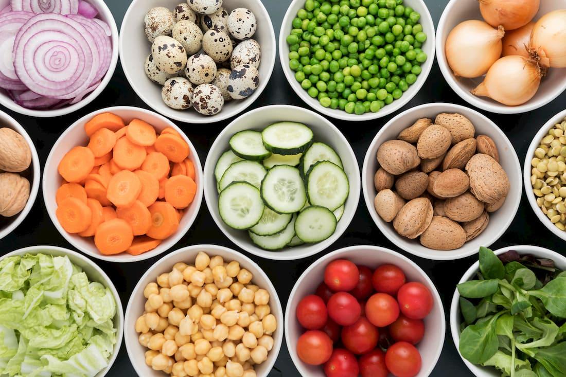 frutas y verduras para mantenerse en forma