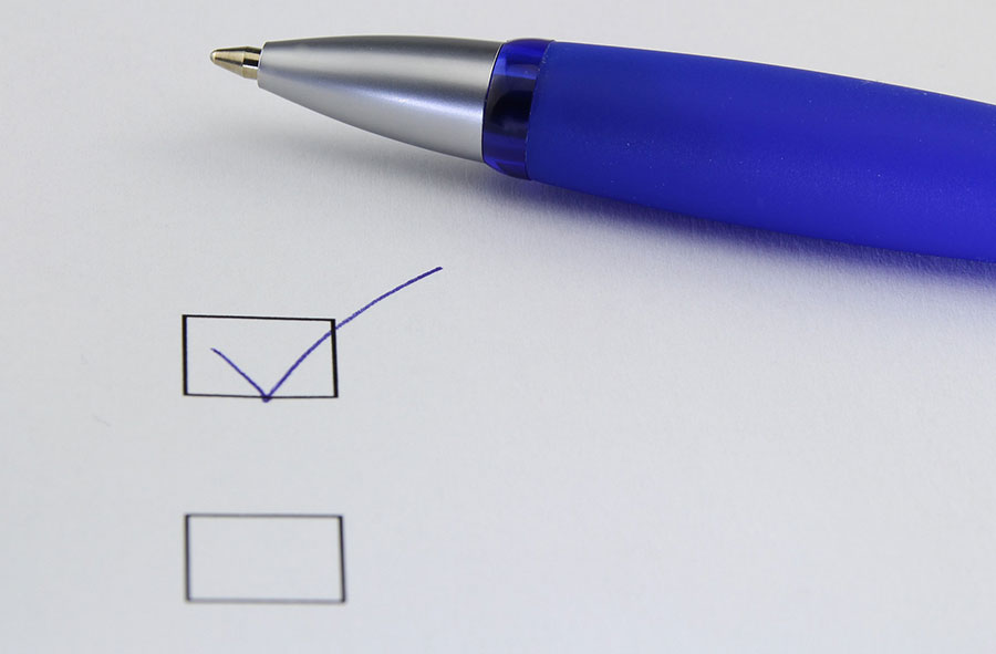 Lápiz y papel para tomar decisiones